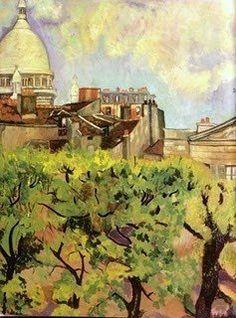 Suzanne Valadon (1865-1938) paints Landscapes