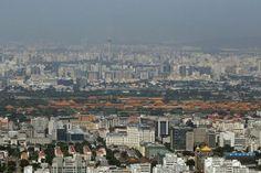 The Forbidden City aerial photo