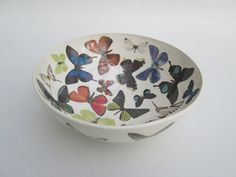 Butterfly Bowl by SophieBruenCeramics on Etsy, £39.00