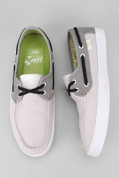 """Part of the casual, comfortable, eco-friendly Vans Surf collection."""