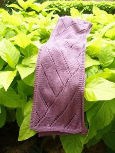 Free Knitting Pattern - Scarves: Lost in Transit Scarf
