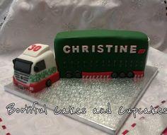 eddie stobart inspired cake  Cake by bootifulcakes