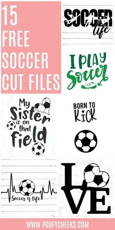 15 Free Soccer Cut Files – This post contains affiliate links to products I use and recommend. If you make a purchase we may receive a small commission. Spring soccer season is here! Create some great new gear for the season using these 15 free cut files! I'm currently using a Silhouette Cameo 3 after …
