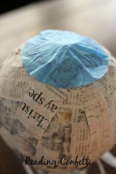 Birthday Pinatas ~ Reading Confetti