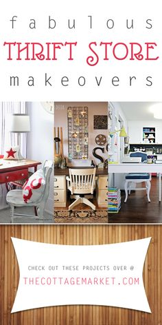 Fabulous Thrift Store Makeovers - The Cottage Market
