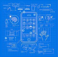 Blueprint art google search art inspiration pinterest iphoneblueprintdesign graphicsillustrationclever 3984042f51f7ccefa547b5c9ae3d4cbeh malvernweather Images