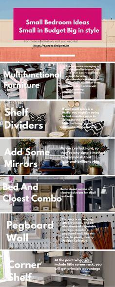30 Small Bedroom Ideas Small in Budget Big in Style - Space designer Door Rack, Cozy Nook, Extra Rooms, Cube Storage, Small Gardens, Soft Colors, Indoor Garden, Amazing Gardens, Your Space