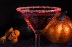 Celebrate with Vampire Kiss Martinis: Add a little sparkle to your Halloween with this Vampire Kiss Martini.