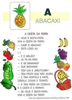 Portuguese Lessons, Word Problems, Pre School, Professor, Activities For Kids, Education, Bento, Pandora, Reading Activities
