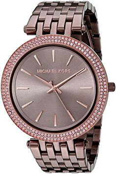 Michael Kors Womens Darci Brown Watch MK3416 *** Details can be found by clicking on the image.Note:It is affiliate link to Amazon.