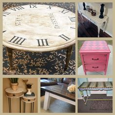 6 Cool Table Projects · Home and Garden | CraftGossip.com