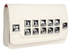 { Betsey Johnson Stud Muffin Too Clutch Handbag } this looks like my old Jagger Edge phone cover ha!