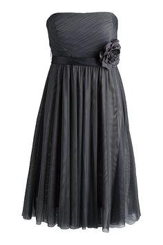 grey dress by esprit