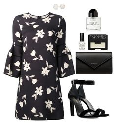 """Untitled #333"" by hayleyl22 ❤ liked on Polyvore featuring Carolina Herrera, Balenciaga, Yves Saint Laurent, OPI, NARS Cosmetics, Chanel and Byredo"