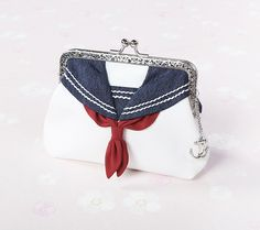 Sailor uniform coin purse