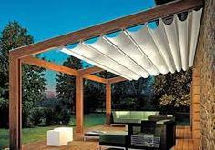 Afbeeldingsresultaat voor dach terrasse windschutz segel