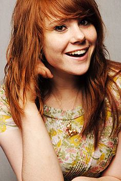 Kate Nash- One time, at the airport, I met an Englishwoman who looked just like her.