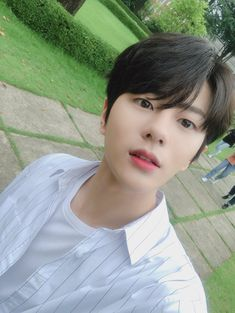 Bomin Suaami q. Child Smile, I Luv U, Woollim Entertainment, Korean Aesthetic, Kdrama Actors, Golden Child, Jaejoong, Worldwide Handsome, Extended Play