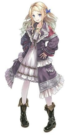 Female Human Villager Cleric Sorcerer Cute Blonde Hair