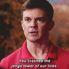 When tv show writers end the series on a HUGE plot twist - FunSubstance Supernatural Quotes, Supernatural Fandom, Jenga Tower, Winchester Boys, Plot Twist, Destiel, Good Looking Men, Superwholock, Reaction Pictures