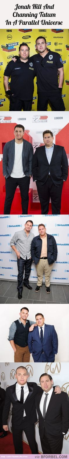 Jonah Hill And Channing Tatum In A Parallel Universe…