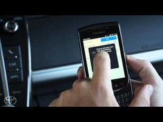 Pairing your BlackBerry to Entune®