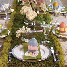 Such a Cute TableScape For Easter