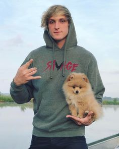 "732.7k Likes, 5,433 Comments - Logan Paul (@loganpaul) on Instagram: ""New pup. New Merch. Both savage. Welcome aboard the rocket ship @KongDaSavage! I promise you're…"""