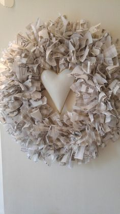 Shabby Chic Rag Wreath                                                                                                                                                                                 More
