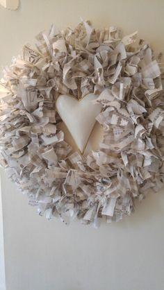 Shabby Chic Rag Wreath