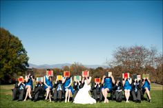 really cute book-themed wedding. lots of fun details and the bride looks SO happy. link via @meevs