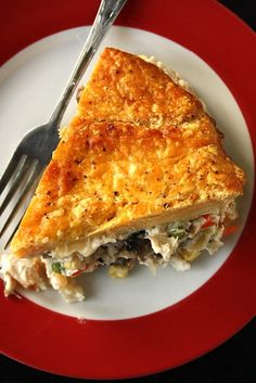 Smoked Chicken Pot Pie with Sweet Potato Crust.The best! Suzie the Foodie & Bobby Flay's Bobby Flay Recipes, Chef Recipes, Kitchen Recipes, Food Network Recipes, Real Food Recipes, Cooking Recipes, Disney Recipes, Disney Food, Fall Recipes