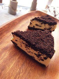 オレオのクリームチーズケーキ