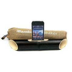 iBamboo iPhone Speaker Black Limited Edition by iBambooSpeaker, $25.00