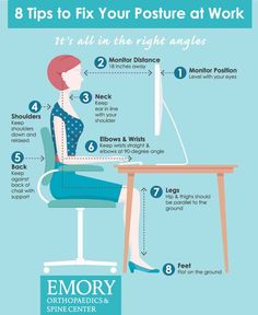 Fix your Posture at Work