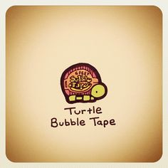 Turtle Bubble Tape - @turtlewayne- #webstagram