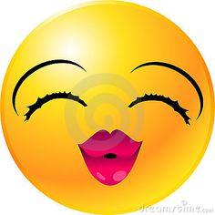 Emoticon-smiley-Gesicht
