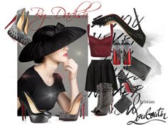 """""""Which pair of Louboutin ?"""" by dadish ❤ liked on Polyvore"""