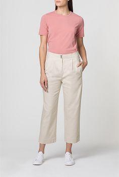 Wide Leg Cotton Pant   Pants Cotton Pants, Wide Leg, Khaki Pants, Women Wear, Legs, Clothes, Hair, Fashion, Outfit