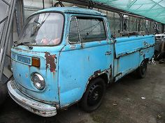 Vw Transporter T2 Bay Window Single Cab Pick Up 1978 Project    - http://classiccarsunder1000.com/archives/10785