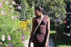 ARITZIA STRIPED DRESS via xo.Janiecy.xo