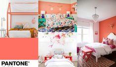 Living Coral o cómo decorar con el color del año 2019 Manualidades Halloween, Ideas Para Organizar, Ikea Hack, Children, Room, Furniture, Home Decor, Bedroom, Halloween Wreaths