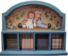 Amazon.com : Enesco Traditional Raggedy Ann & Andy Wooden Display *See below for discount display* : Musical Washboards : Musical Instrument...