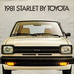 Starlet Touchup Paint Codes, Image Galleries, Brochure and .Toyota Starlet Touchup Paint Codes, Image Galleries, Brochure and . Classic Japanese Cars, Classic Cars, Chrysler Airflow, Toyota Starlet, Nissan 240sx, Car Brochure, Import Cars, Toyota Cars, Commercial Vehicle