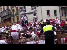 Festival of San Fermin, Running of the Bulls Day July Pamplona Running Of The Bulls, July 7, Pamplona, World Traveler, Small Towns, Summer Beach, Travel Destinations, Party, Road Trip Destinations