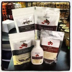 Check out our new selection of Extreme Health USA products from Dark Chocolate Covered Goji Berries,Dark Chocolate Covered Acai Berries, Milk Chocolate  Covered Goji Berries, Raw Goji Berries and Goji Berry Juice Concentrate. All CertifIed Organic and NON-GMO.