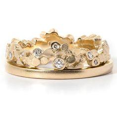 Jewelry & Watches Discreet 18 Karat Gold Saphir & Diamant 3 Steine Ring