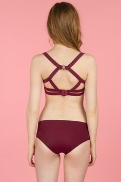 CHLOE SEVIGNY FOR OPENING CEREMONY harness bikini