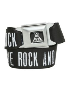 Fall Out Boy Save Rock And Roll Seat Belt Belt; I call it!!!!!! I WANT IT!!!!