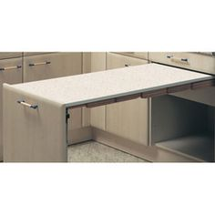 Hafele ''Presto'' Pull-Out Kitchen Table #kitchensource #pinterest #followerfind